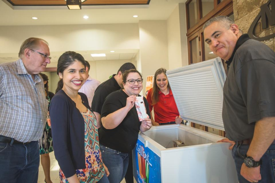 NuStar employees enjoy free ice cream treats on Frosty Fridays during the summer, and leave the office early once a month during the summer on Fun in the Sun Fridays.