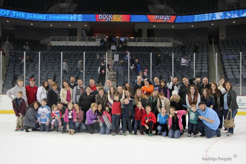 Family Night at Icemen Hockey Game