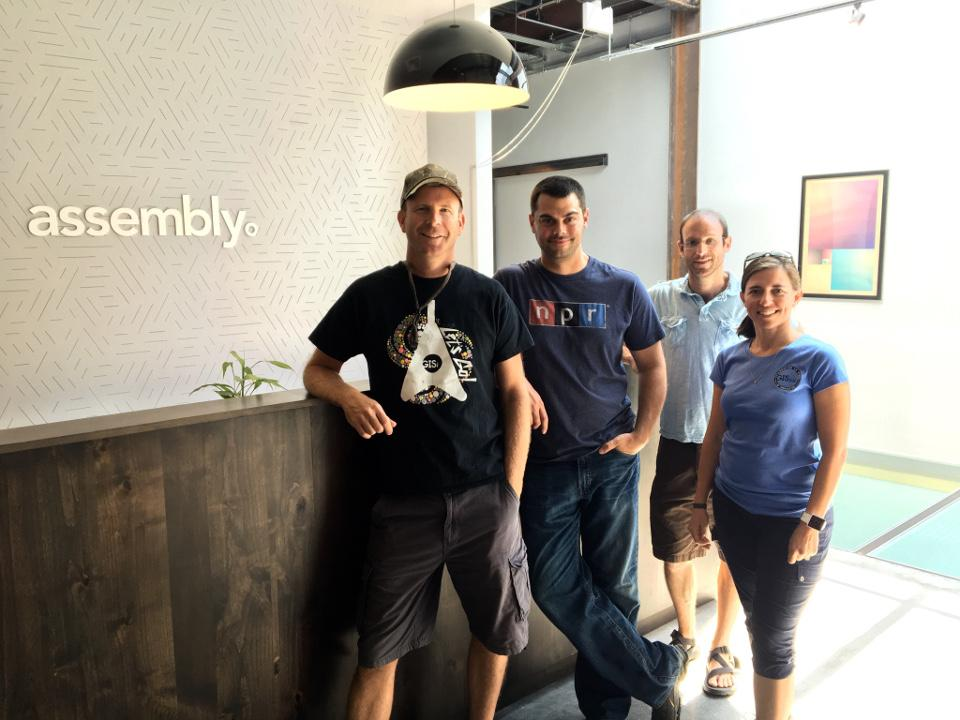 Denver team together for Monthly Info meeting