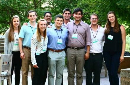 Interns visiting Deloitte University