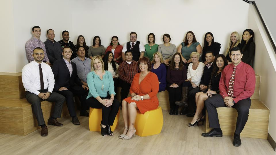 Employees from New American Funding's Irvine North branch