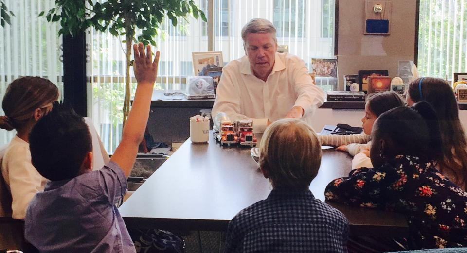 John Donahue Bring Kids to Work Day