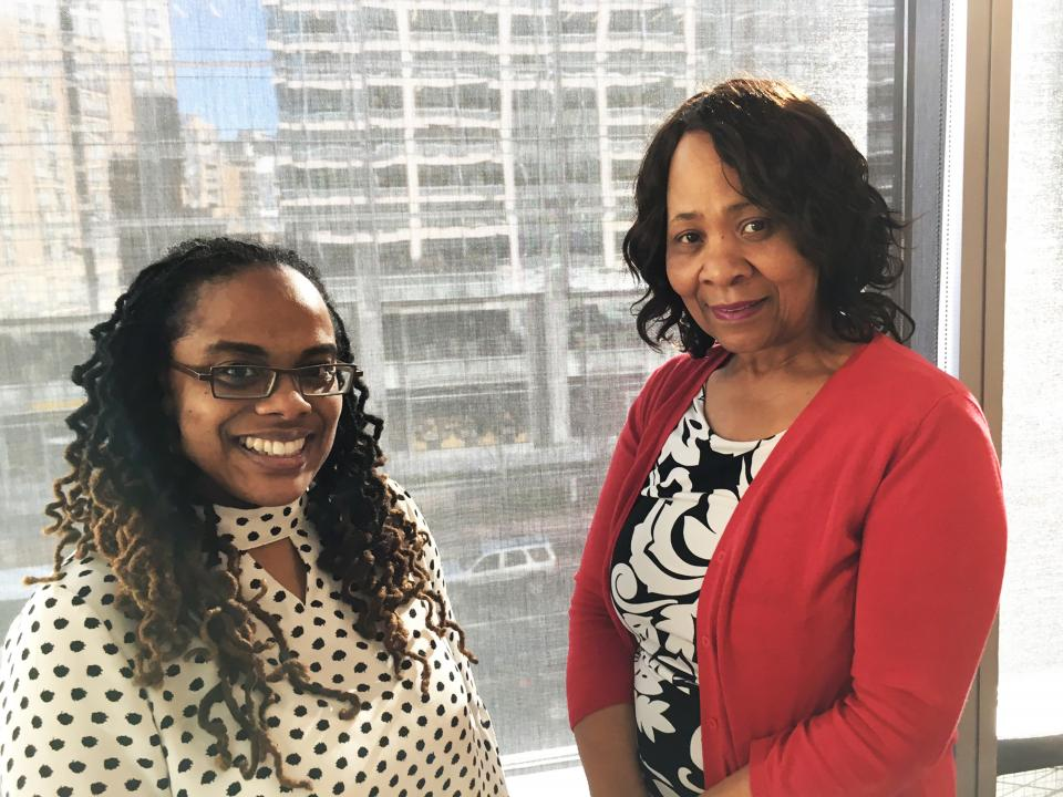 Arnold & Porter Kaye Scholer longtime employees Jacqueline Martin and Raquel Pinkney