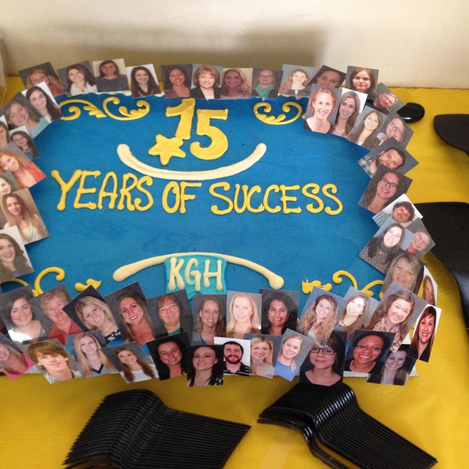 KGH's 15 Year Celebration Cake