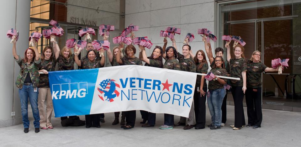 Members of the firm's Veterans Network