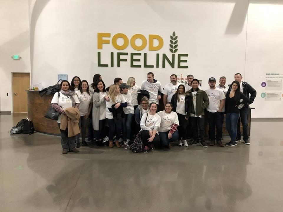 We love seeing our #KforceFamily give back! Our Seattle team volunteered at Food Lifeline.