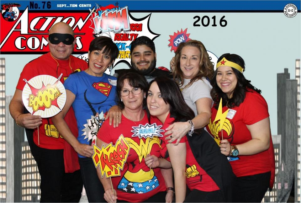 Our Superhero-themed 2016 Awards Ceremony