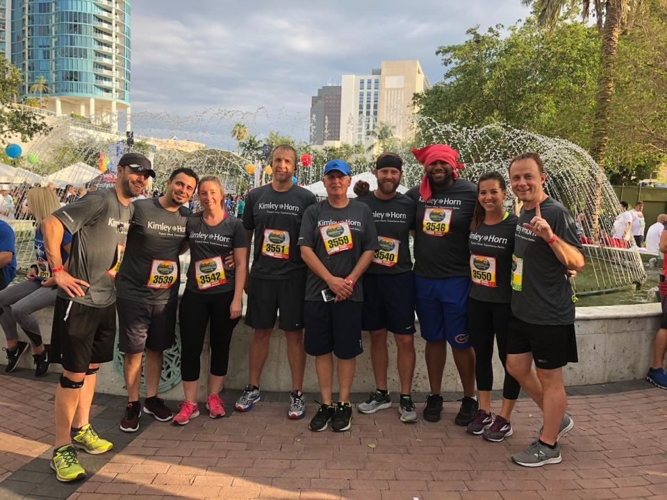 The team that runs together, stays together!