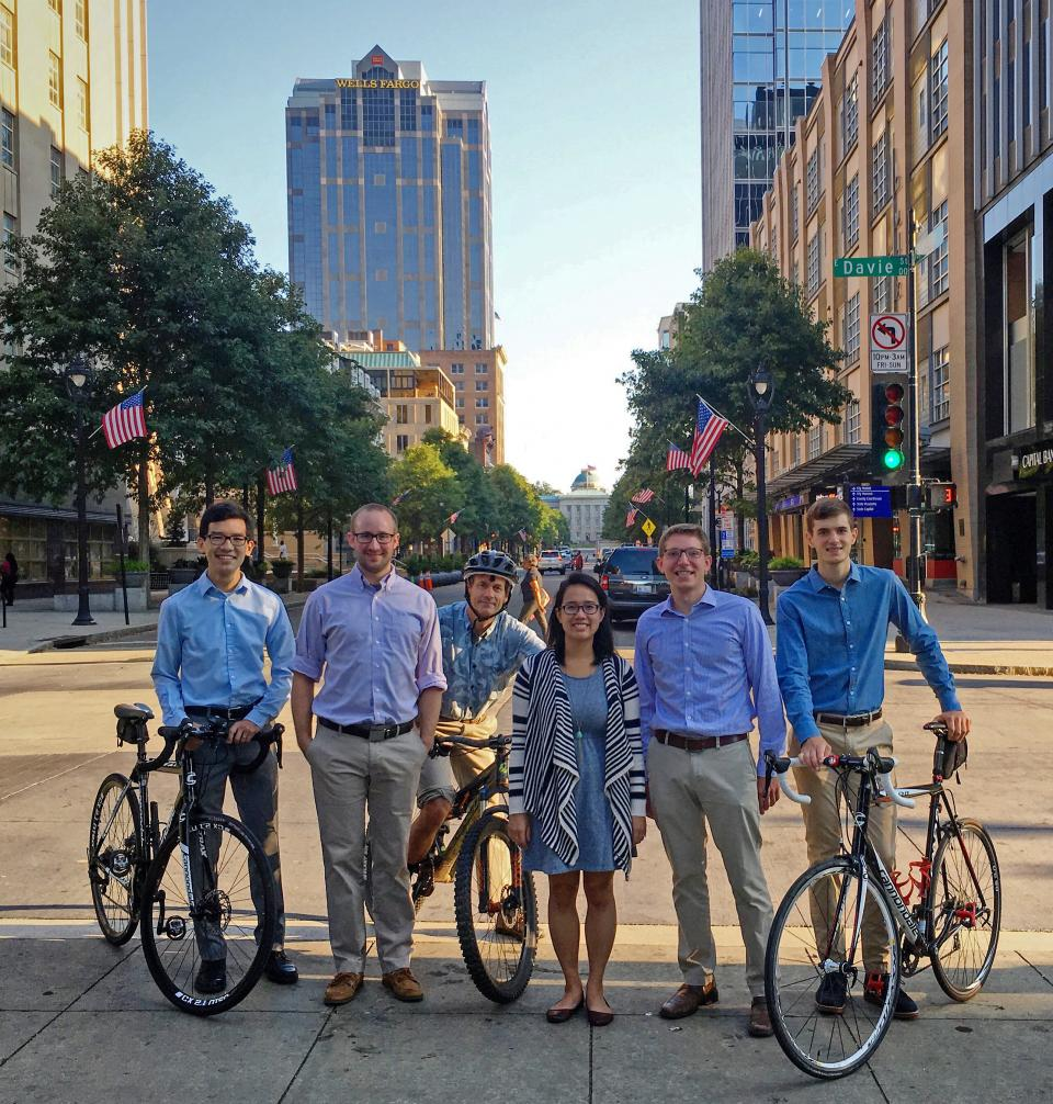 The League of American Bicyclists designated Kimley-Horn's Raleigh office as a Bicycle-Friendly Business.