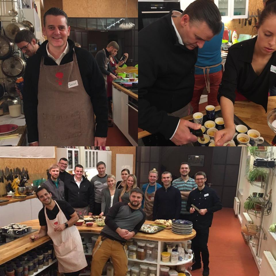 Cooking Class with our Tallinn Team