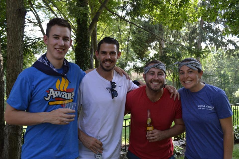 Teams celebrate success at LogicManager's annual Summer Lawn Party