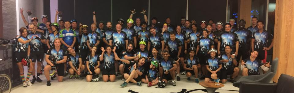 More than 100 Cirrus Logic employees turned out for the annual LiveStrong Challenge.
