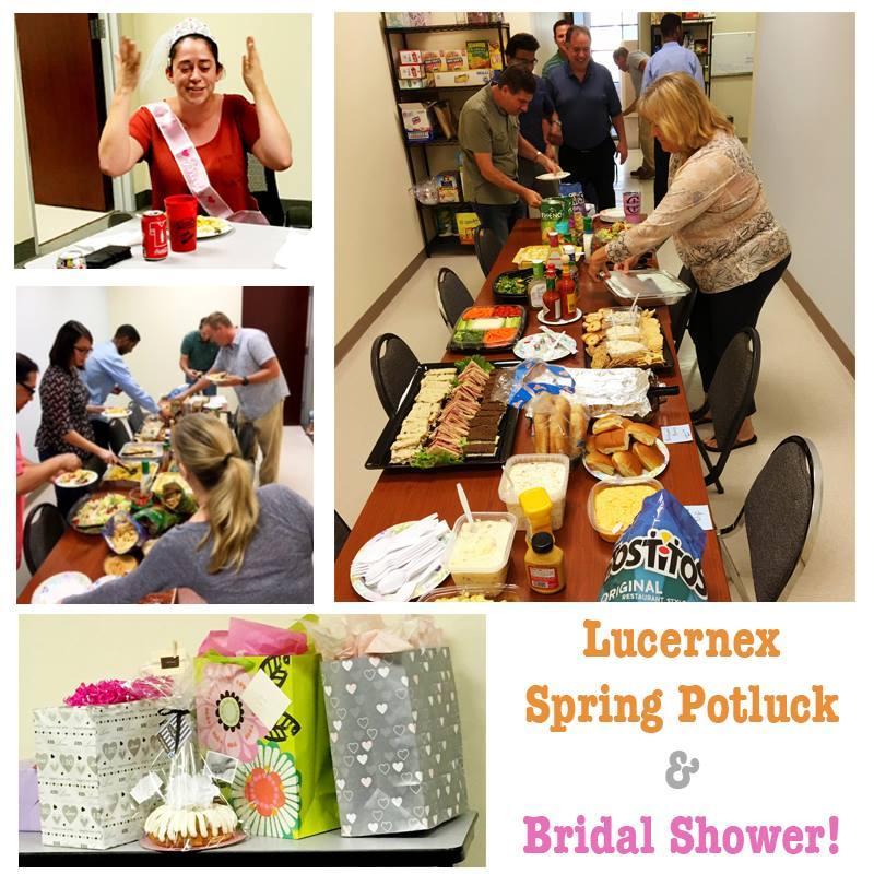 Spring Potluck & Bridal Shower