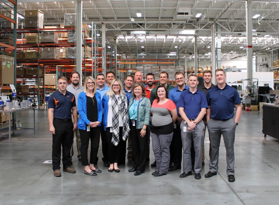 Graco employees who volunteered to host our annual Manufacturing Day