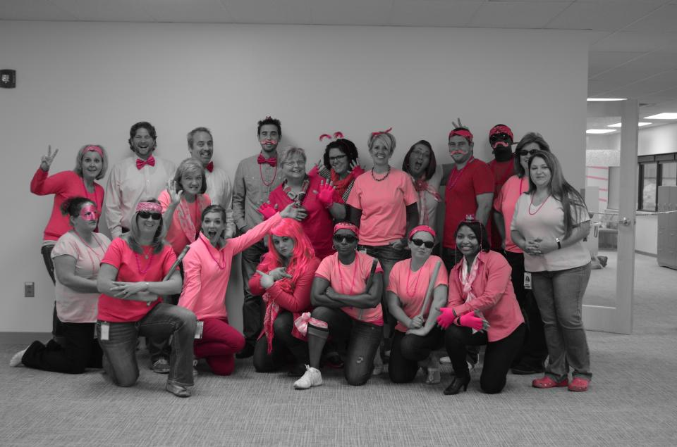 Roche Employees - Making Strides Against Breast Cancer