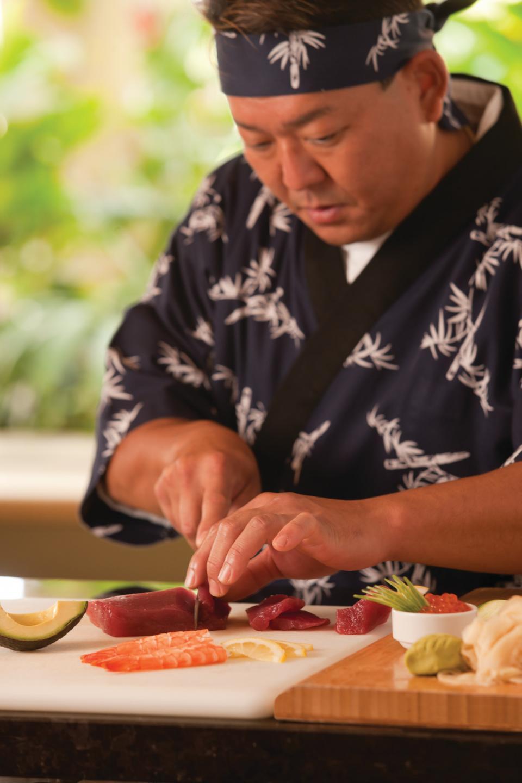 Maui Sushi Chef
