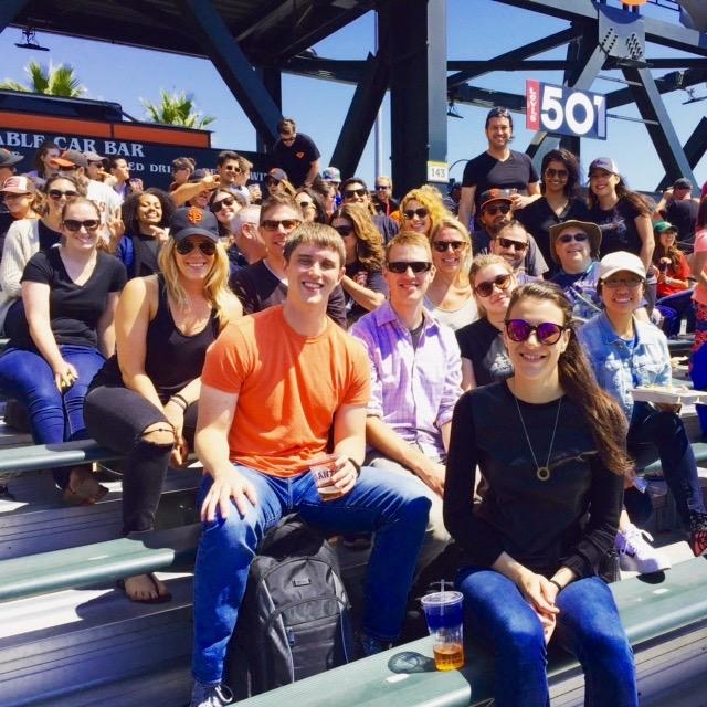 Metabiota at the ballpark- SF Giants Day 2016