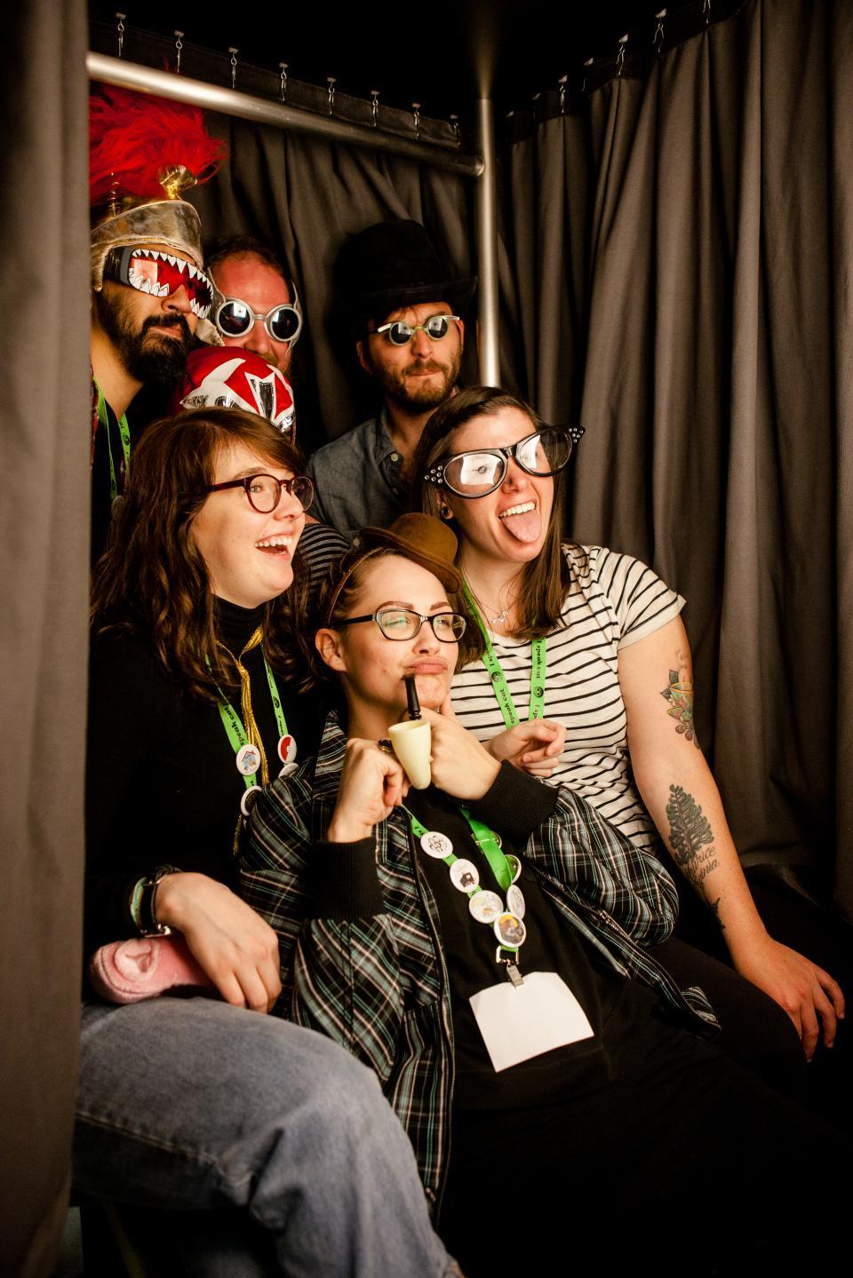 Photobooth fun at Mudstock 2016