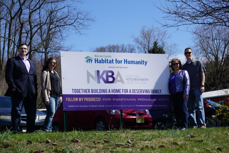 NKBA Volunteers with Habitat For Humanity