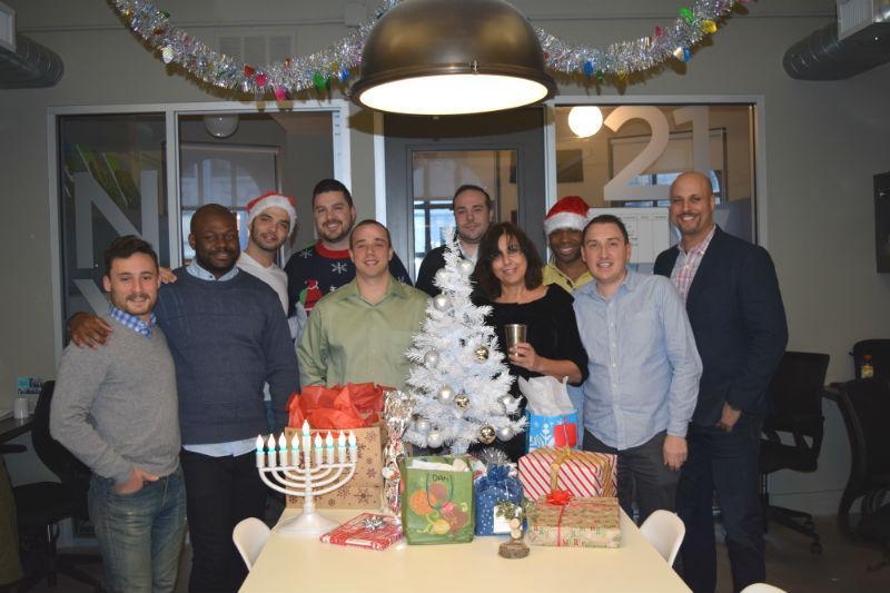 NY office looking forward to the Holidays!
