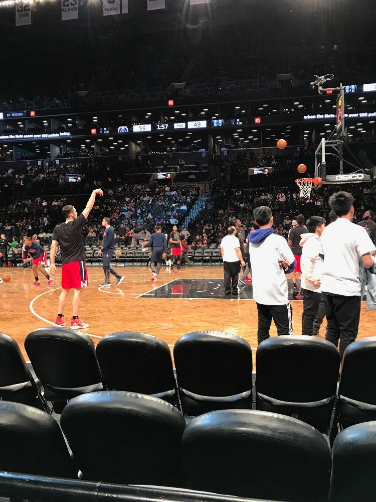 Courtside Season Tickets to the Nets