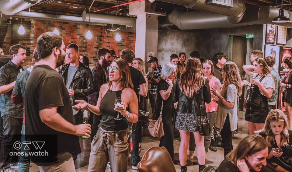 Monthly Ones to Watch artist showcase at Live Nation Beverly Hills Office
