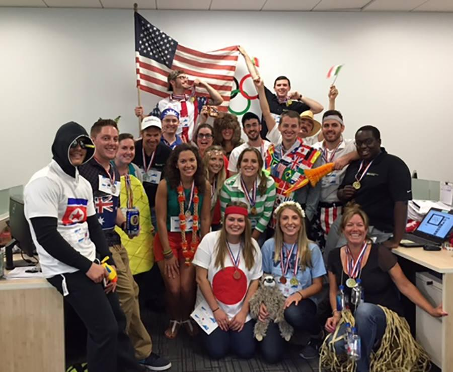 Outrageous Office Olympics was a success in our Reston office!