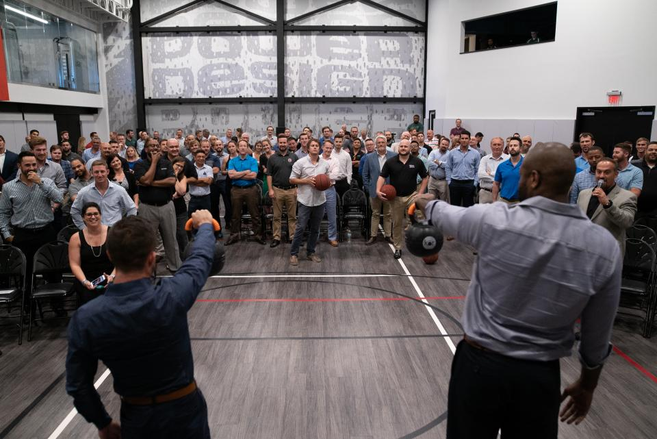 We hold quarterly PM Pulse meetings for our operations team where they can ask questions, get advice, participate in sports challenges and even happy hour.