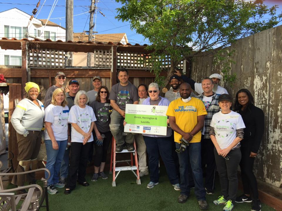 Orrick's San Francisco and Silicon Valley offices joined Rebuilding Together for another home renovation transformation.