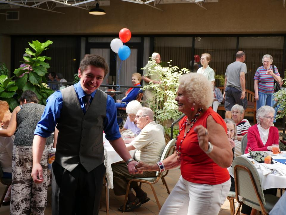 St. Camillus resident dancing with Kids From WI performer