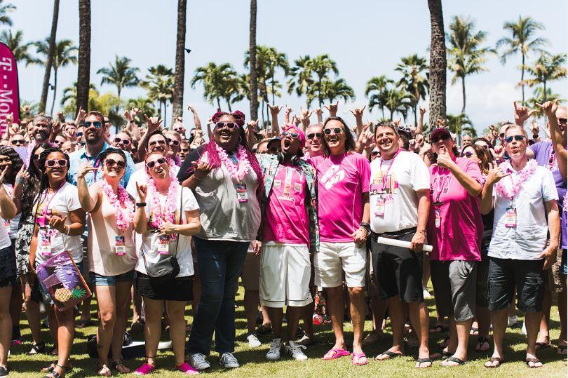 PEAK winners enjoy time with T-Mobile CEO in Hawaii