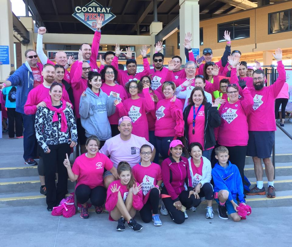 Walking to Cure Breast Cancer