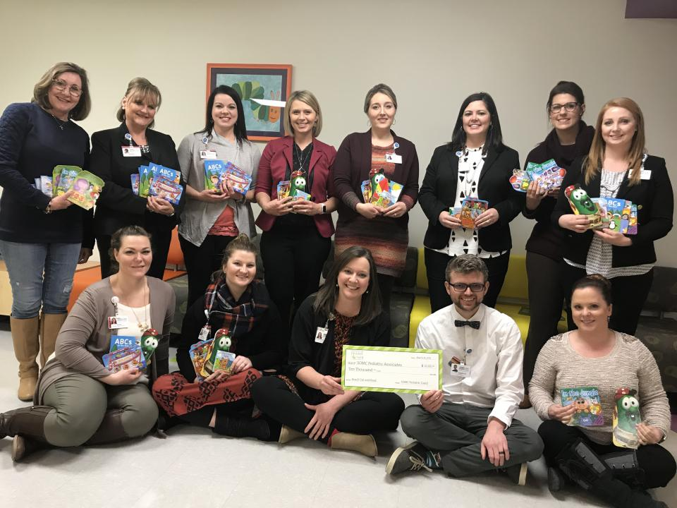 The Pediatric Guild Receives a Donation