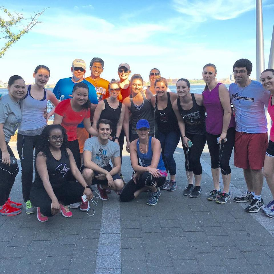 Peppercomm NY takes a 4-mile run along the East river
