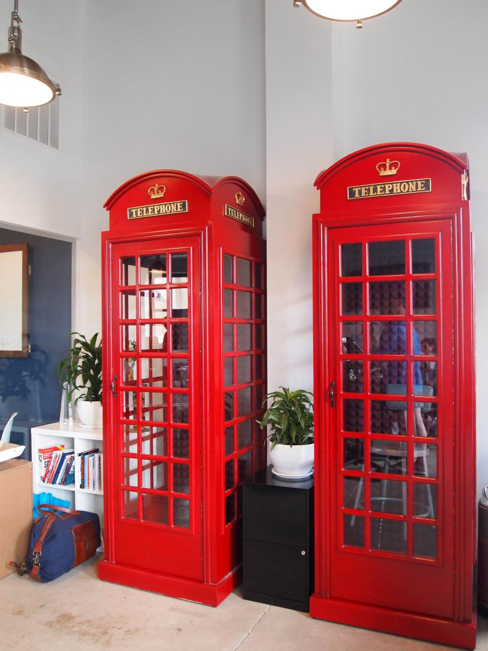 Soundproof Phone Booths