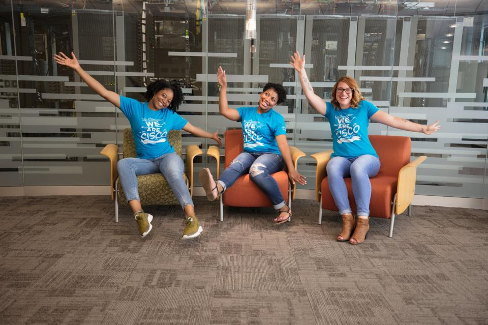 With team members like this, it's hard not to have fun.