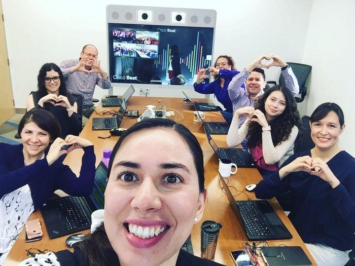 Our monthly Cisco Beat's are a great way for employees to show their Cisco love