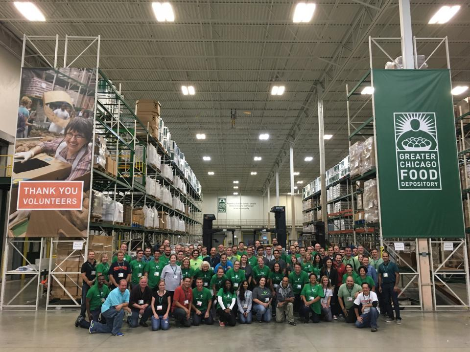 Greater Chicago Food Depository Food Packaging Event