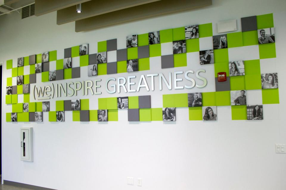 We Inspire Greatness Wall Photo
