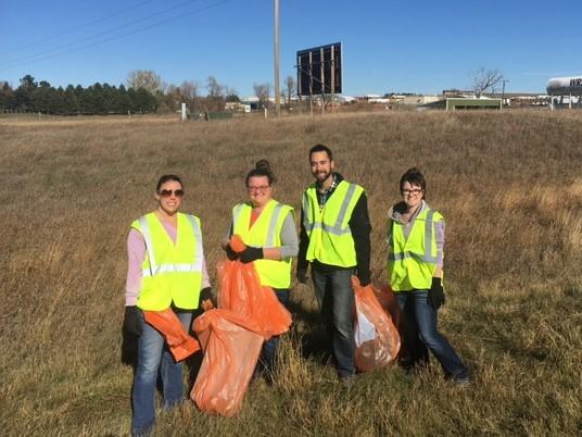Adopt-A-Highway Clean Up