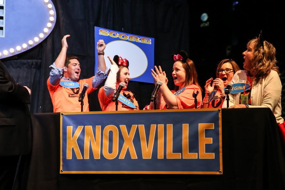 Associates dress up, get competitive, poke fun at leadership and laugh a lot at Pinnacle's annual anniversary party, like this one themed after the
