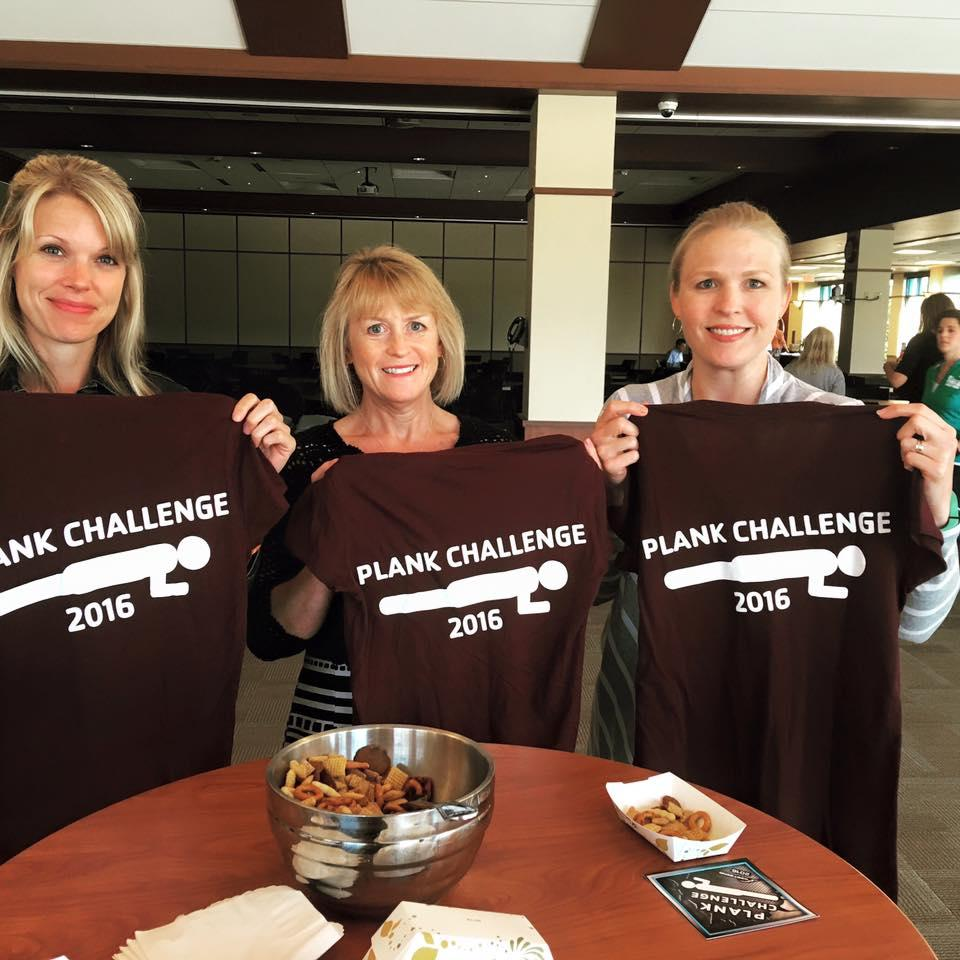 Associates Celebrate Plank Challenge
