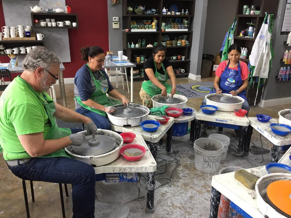 Each month TCG hosts Social Sprees, which are social events planned and organized by staff. Past events include learning how to make pottery, wine tasting, lunch at an ethnic restaurant, bubble ball, scuba diving lessons, and other fun activities.