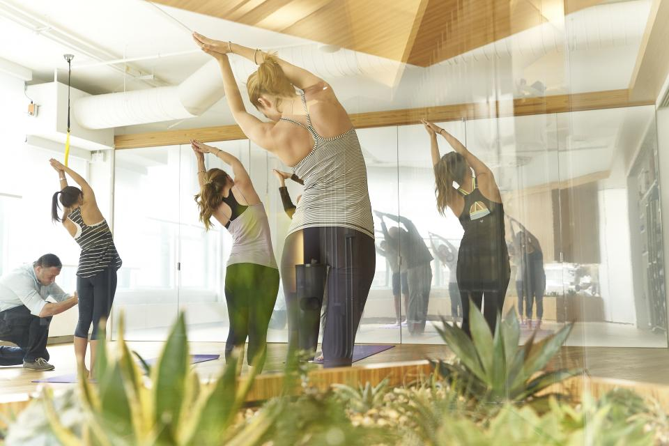 Yoga classes are one of our many health & wellness offerings