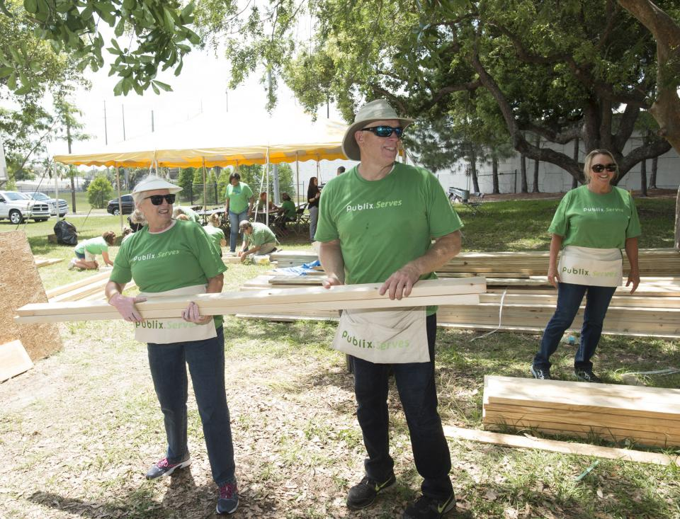 Community involvement is a strong part of the Publix culture.