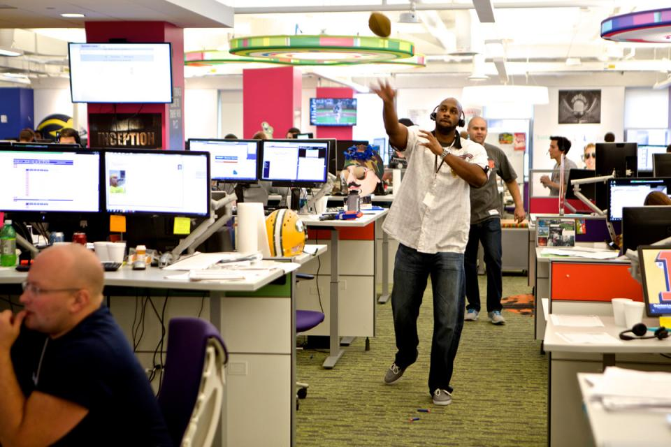 It's always football season on the mortgage banking team