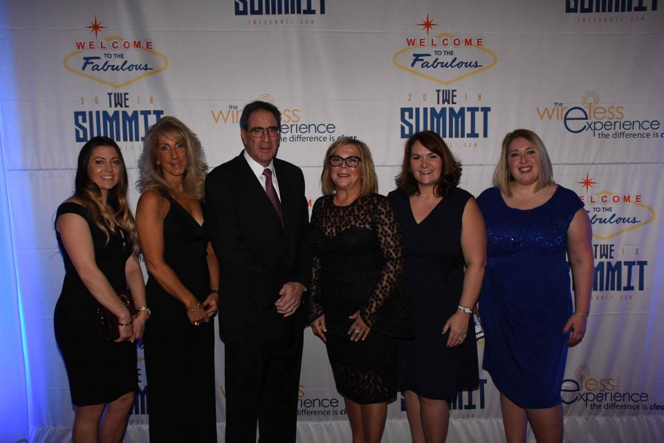 Team Members at the annual TWE Summit