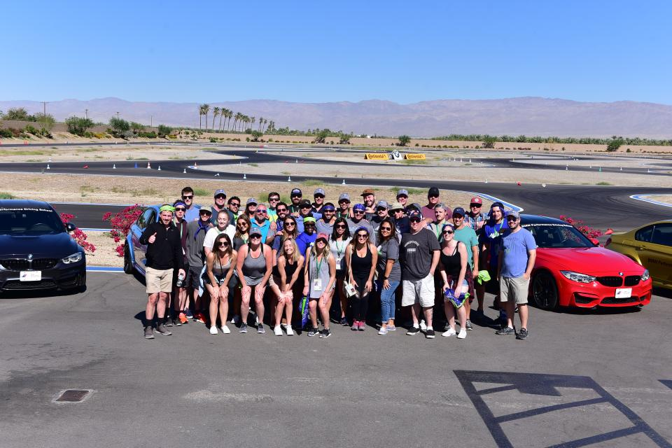 Staff Retreat 2017 - BMW Racing!