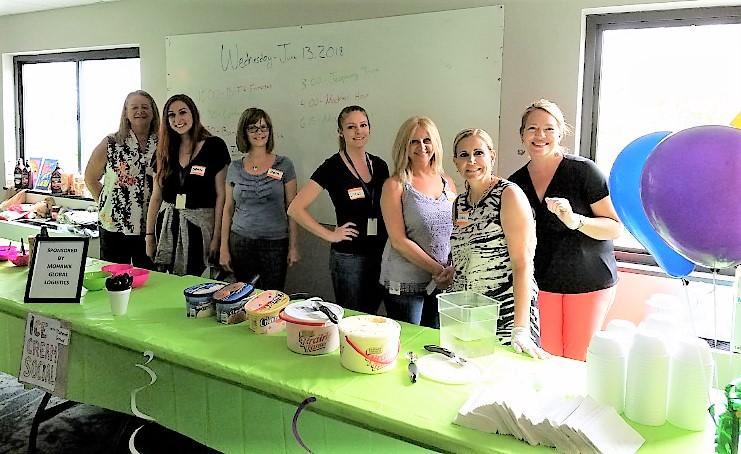Mohawk-sponsored ice cream social for seniors