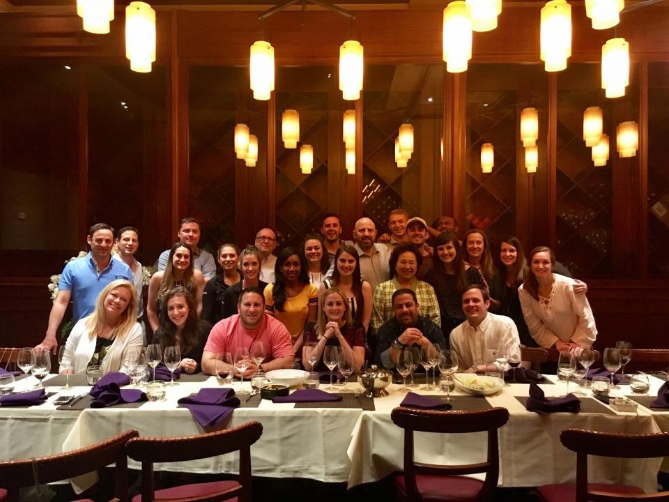 Annual Team Dinner at Lotus of Siam in Las Vegas